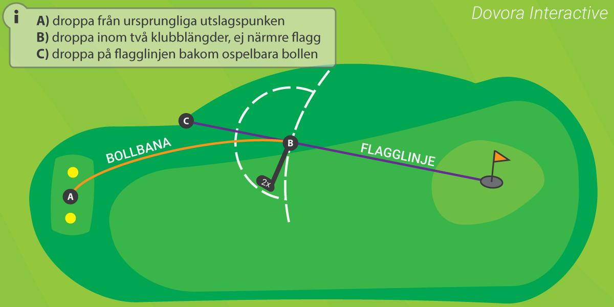 Golf i Sverige - Regel